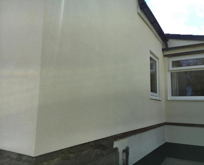 Krend and insulation render job Guiseley - Yorkshire