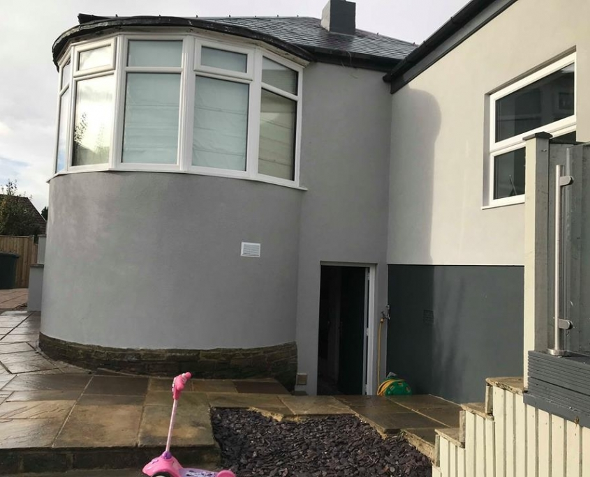 Coloured k rend job baildon